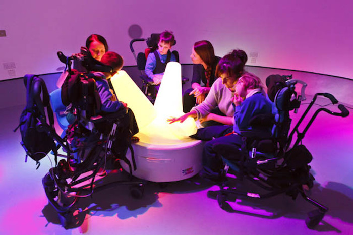 Musii - Multi Sensory Interactive Inflatable, developed by Luke Egan, Pete Hamilton and  Jnr Hacksaw, photo credits - Musii
